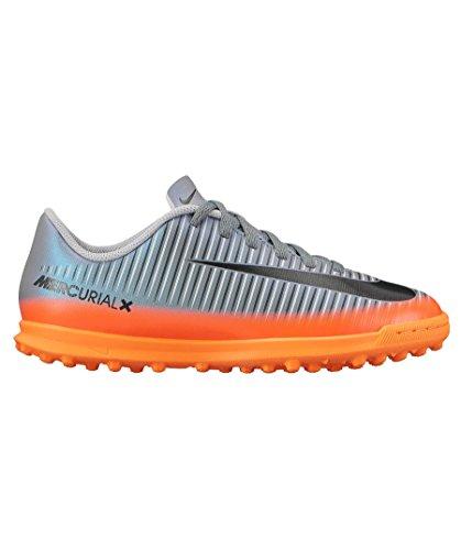 turf Vortex Mercurial Da Nike Nero Calcetto Iii Ragazzo 852497 Junior Cr7 Grigio Scarpe arancio 001 paRqI