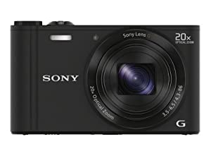 Sony 18 MP Digital Camera with 20x Optical Image Stabilized Zoom and 3-Inch LCD
