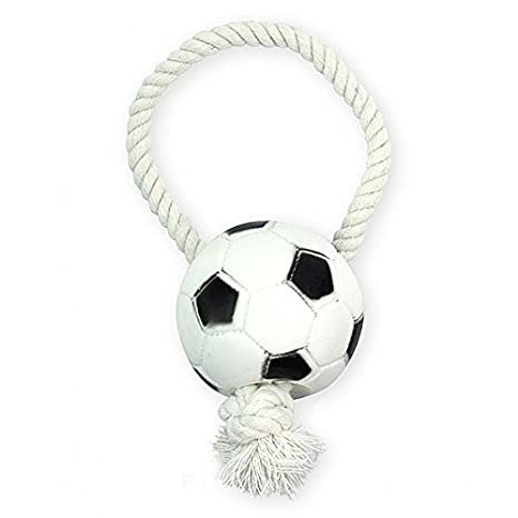 pet nova juguete de vinilo para perros - Balón de fútbol con ...