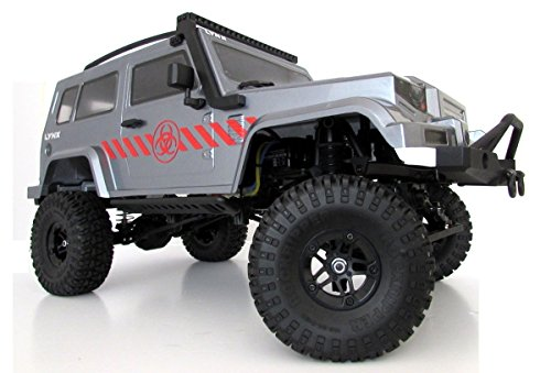 Carisma 1:10 Scale RC Rock Crawler Brushed Ready To Run with Battery SCA-1E Lynx Orv (Wheel Base 285mm) from Scale ()
