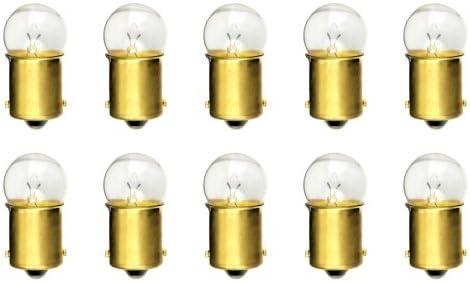 BA15s Base G-6 shape CEC Industries #81 Bulbs Box of 10 6.5 V 6.63 W