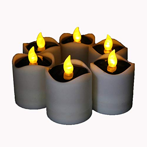 Flicker Candle Solar Lights in US - 3