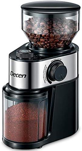 decen-electric-burr-coffee-grinder
