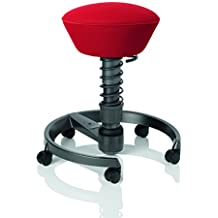 aeris GmbH Metal Swopper Air Motion Chair with Convex Seat and Stable Foot