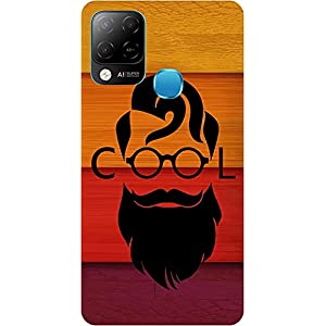 BuyFeb Back Cover Case Compatible for Infinix Hot 10s (Silicon Soft Printed Mobile Cover) – Design182