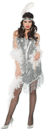 UHC Women's Swingin Outfit Theme Party Fancy Dress Adult Halloween Costume, XL (14-16)