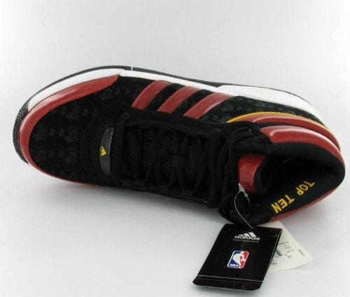 adidas Men'S Top Ten Lt NBA Miami Heat Basketball Shoe