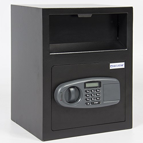 Best Choice Products Digital safe Drop Deposit Front Load Cash Vault Depository Lock Box Home Jewelry
