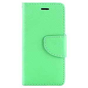 SumacLife Wallet Stand Case with Wristlet for iPhone 6 - Retail Packaging - Teal
