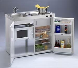 Pequeño con cocina Microondas compacto cocina Single Cocina Mini de cocina oficina Cocina B100cm