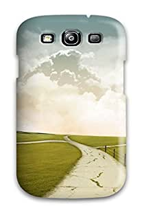 Hard Plastic Galaxy S3 Case Back Cover,hot Windmill Road Case At Perfect Diy