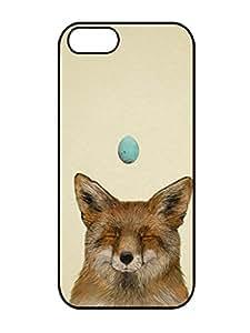 Hot Sell Design WISH Cute Rubber TPU Iphone 5 5s TPU Silica Gel Black Phone Case