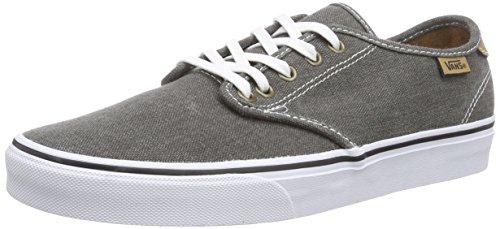Vans CAMDEN Herren Sneakers Grau ((Washed Canvas) black/chipmunk)