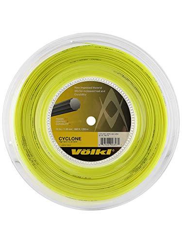 Volkl Cyclone Reel Neon Tennis String ( Yellow, 16-Gram)