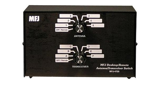 Conmutador de antena ameritron mfj-4726: Amazon.es: Electrónica