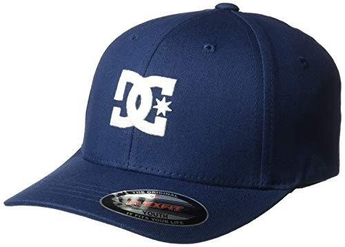 DC Apparel - Kids Boys' Big Cap Star 2 Trucker HAT Youth, Black iris, 1SZ (Dc Hat For Boys)