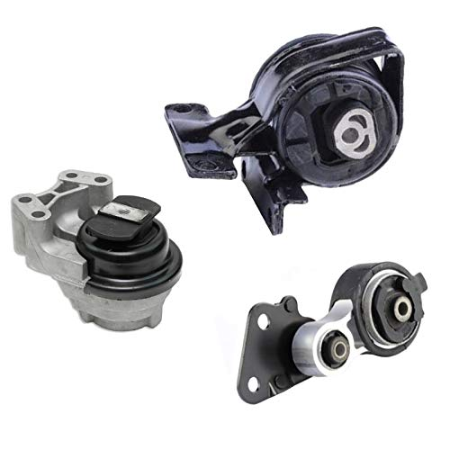 A5342 A5605 A5431 K2587 Fits 2007-2014 Ford Edge 3.5L 3.7L// 07-15 Lincoln MKX Motor/&Trans Mount Set
