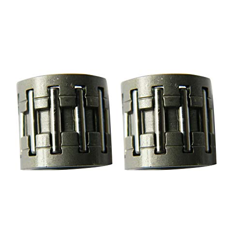 Hippotech Pack of 2 Sprocket Needle Bearing for STIHL Chainsaw026 029 034 036 039 MS260 MS290 MS310 MS360 MS390
