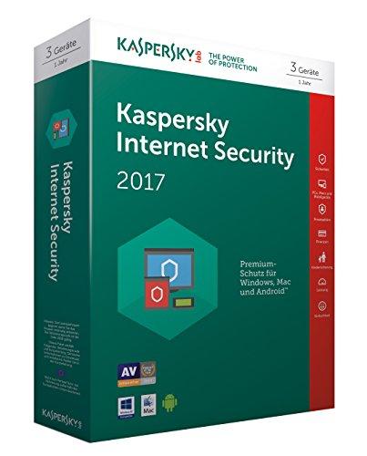 Kaspersky Internet Security 2017 3 Geräte - [Online Code]