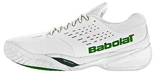 SFX Omni Wimbledon Tennis Shoe uomini bianco/verde taglia 40,5