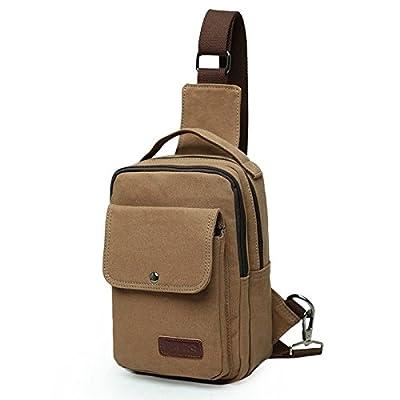 hongrun version coréenne de la poitrine pack toile hommes multifonctions sac à bandoulière sac de loisirs unique paquet diagonale