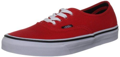 Zapatillas Deporte Red Authentic Fiery Vans Black Rojo U Unisex De PAEAIxq