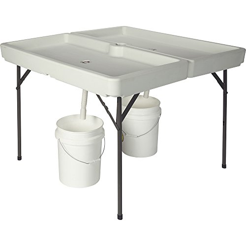 Kotulas 48in. x 48in. Foldable Ice Party Table