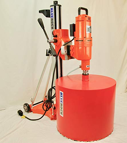 BLUEROCK 20″ Z1T/S 220v Concrete Core Drill w/Tilting Stand & Rolling Base