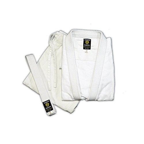 Yamato Sakura Bleached Single Weave Judo Gi Uniform (4)