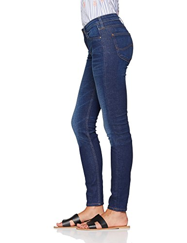 Lee Eq Blue Skinny Scarlett Jeans Worn Women's Vintage 1rTwp1