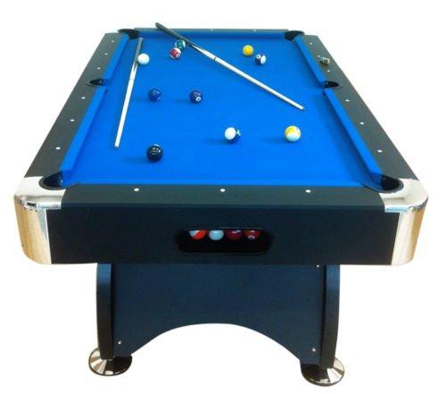 Tavolo da biliardo carambola blue sea 7 ft accessori per carambola panno blu nuovo billiard - Tavolo da biliardo amazon ...
