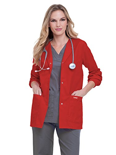 Landau Essentials 7525 Warm-up Jacket True Red L