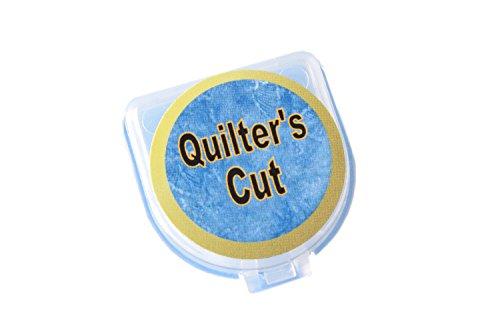 Quilter's Cut 18mm Rotary Blades, 12 Pack, Fits Olfa, Fiskars, Martelli, & Truecut by Quilter's Cut