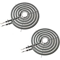 2-Pack CH30M1 for GE Range Burner 6 Small Element WB30M1 PS243867 AP2634727