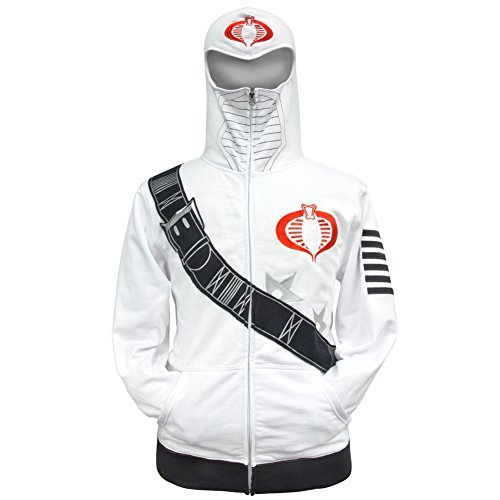 (G.I. Joe - I Am Storm Costume Zip Hoodie -)