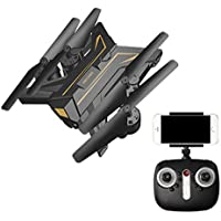 RC Drone with Camera, Alotm Mini Foldable RC Helicopter APP Control PFV VR RC Quadcopter Remote Control Drone with HD Camera, Altitude Hold, 3D Flip Headless Mode and One Key Return Function
