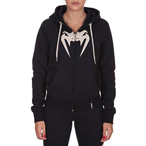 Venum Infinity Hoody with Zip, Small, Black/White