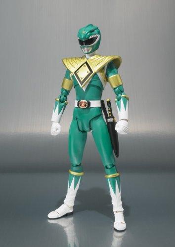 Figuarts Action Figure Bluefin Distribution Toys 81692 Bandai Tamashii Nations Mighty Morphin Green Ranger Mighty Morphin Power Rangers S.H