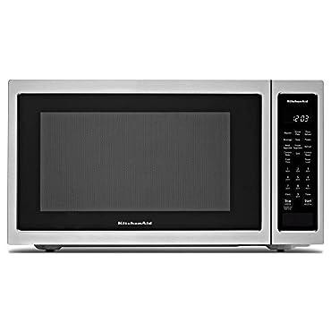 KitchenAid 21 3/4 Countertop Convection Microwave Oven 1000 Watt KMCC5015GSS