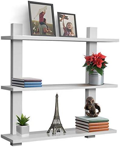 Sorbus Floating Shelf Asymmetric Collectibles