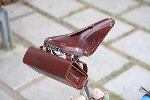 e722b73367 Amazon.com : Brooks Saddles D-Shaped Tool Bag (Antique Brown) : Bike Hand  Tools : Sports & Outdoors
