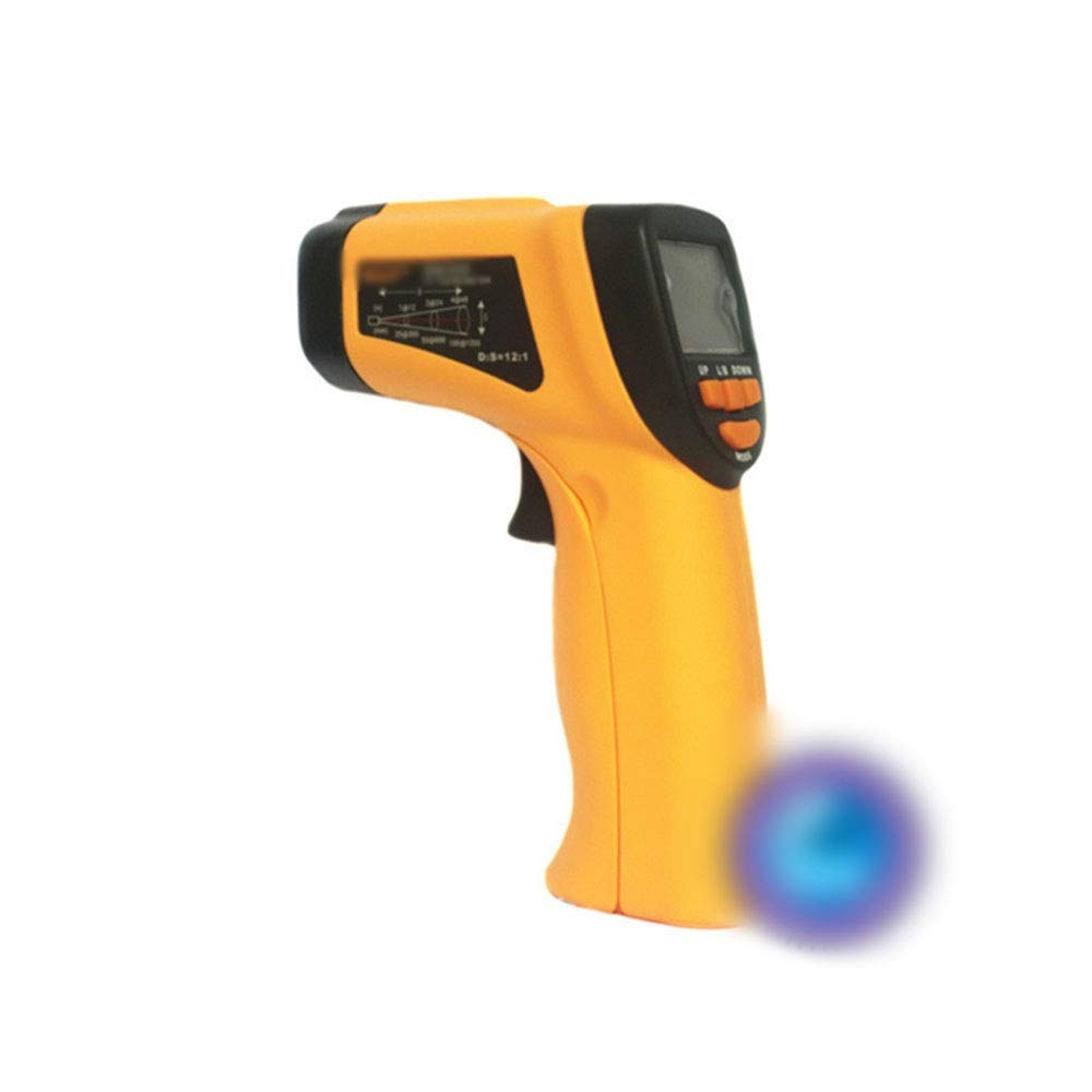 ALLCIAA Measuring Range: -32 ° C ~ 350 ° C Infrared Thermometer 350 ° C Emissivity Adjustable Electronic Temperature Alarm Alarm Gun Measurement Error: -32 ° C - 20 ° C, ± 3 ° C Hermometer Gun