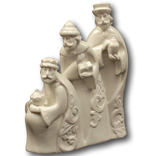 - Midwest Seasons Three Wise Men Porcelain Holiday Figurine Ivory