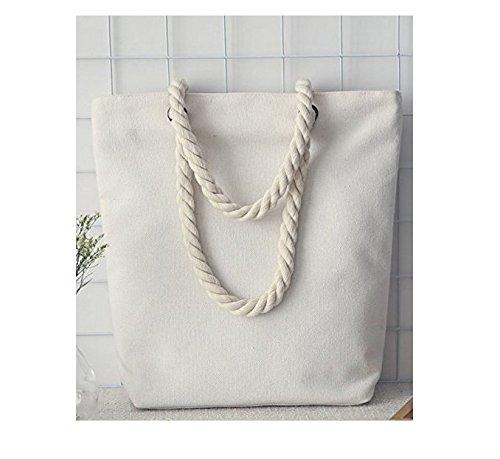 Primi Durable Simple Lady tela spiaggia borsa a mano shopping bag