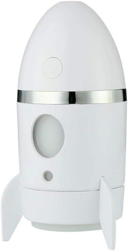 DeYL Humidificador Mini USB LED Rocket Forma Humidificador de Aire ...