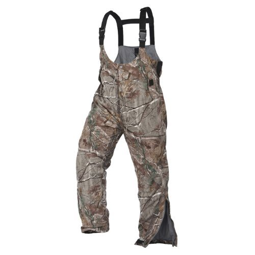 Absolute Outdoor Arctic Shield Performance Fit Bib, Medium, Infinity by Absolute Outdoor, Full Throttle