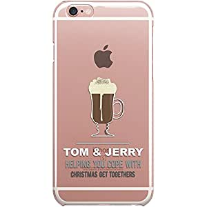DailyObjects Tom N Jerry Clear Case For iPhone 6S