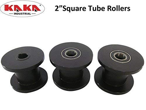 (Square Tubing Roller Dies, Compatible With Kaka Industrial Tube Roller TR60)