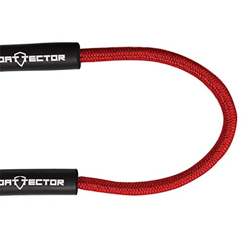 Extreme Max 3006.2571 Red 4' BoatTector Bungee Dock Line, Value 2-Pack by Extreme Max (Image #5)