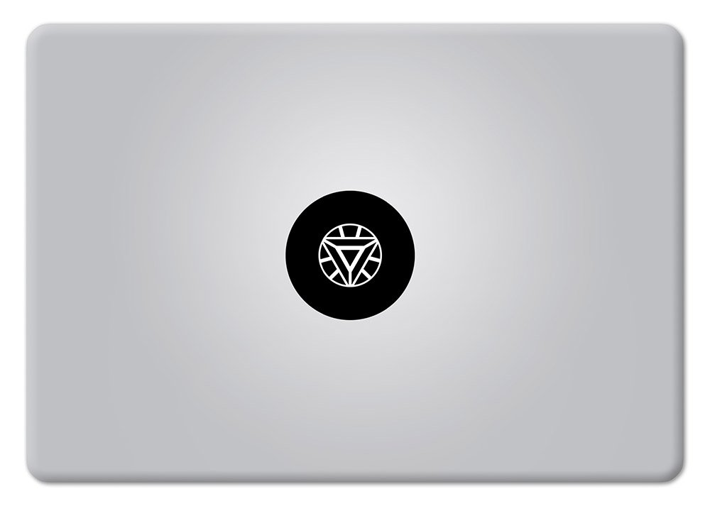 Amazon com iron man arc reactor superhero apple macbook decal laptop mac air pro retina sticker computers accessories